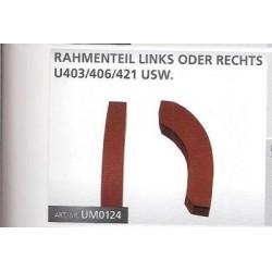 Rahmenteil für Unimog 421, 403, 406, 416