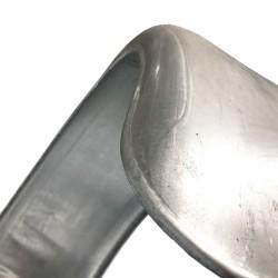 Einachs-Kotflügel, Aluminium, Breite 400mm H4021 AL